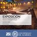 Cartel Exposición Campus de la Universidad de Almería por Domingo Leiva
