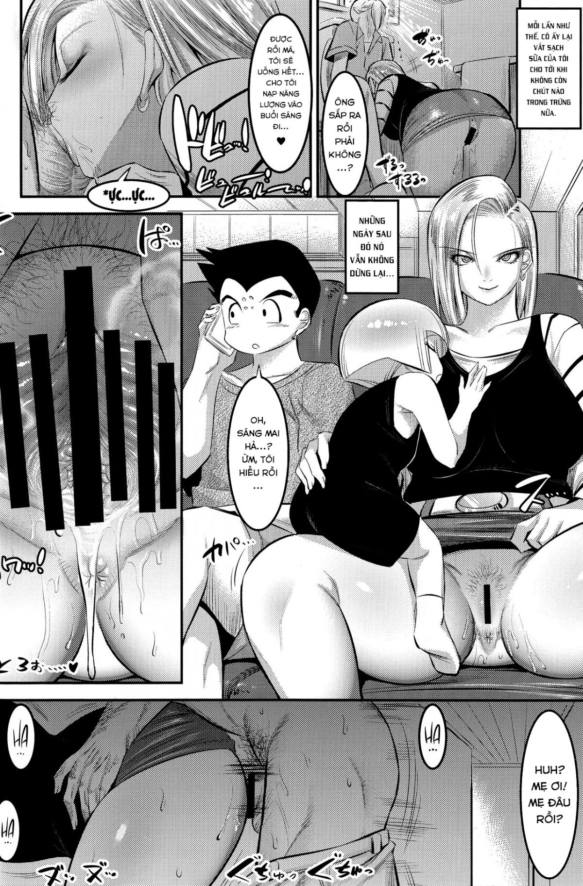 HentaiVN.net - Ảnh 24 - 18-gou ni Mainichi Muriyari Semen Shiboritorareru Hon - A Book About Getting Your Semen Forcibly Squeezed Out By No. 18 Every Single Day - Oneshot