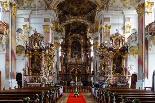 Interior of Zur Schmerzhaften Muttergottes und St. Ulrich, Maria Steinbach