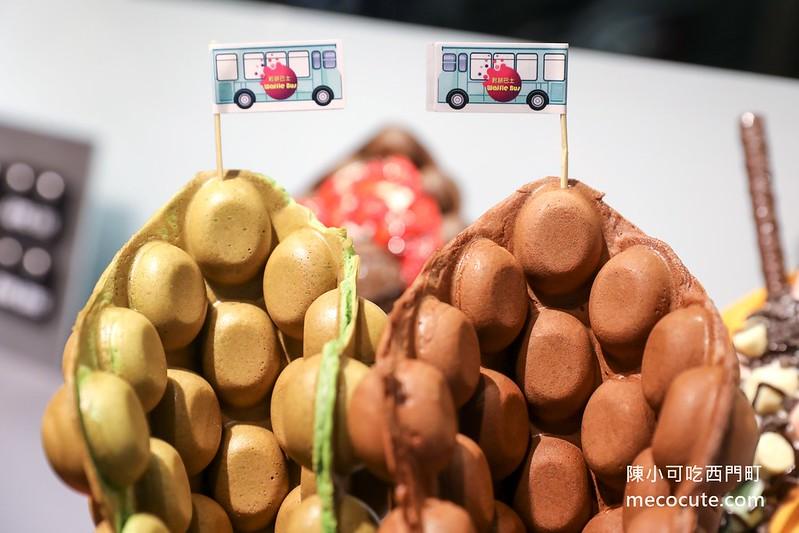 Waffle bus 鬆餅巴士,鬆餅巴士 @陳小可的吃喝玩樂