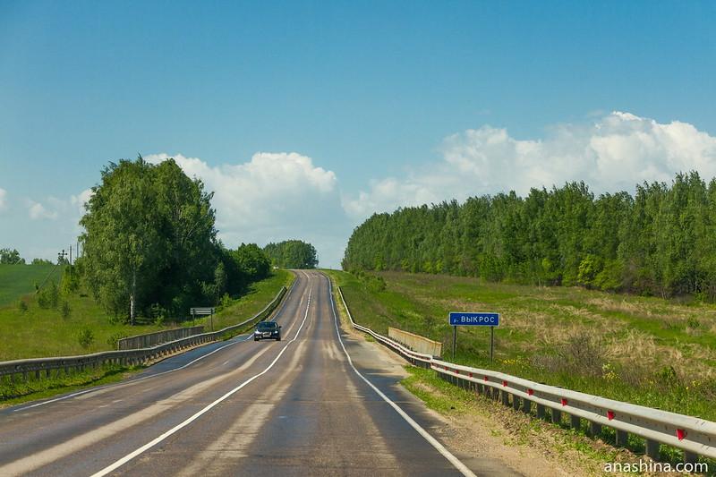 Мост через реку Выкрос