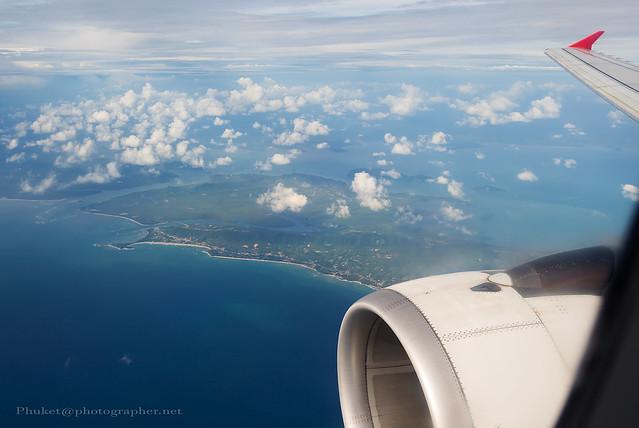 Flight back to Phuket