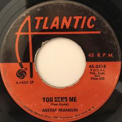 ARETHA FRANKLIN:THINK(LABEL SIDE-B)