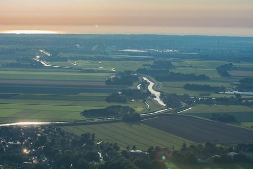 Noordwest kant van Ursem, Rustenburg en kust op de achtergrond
