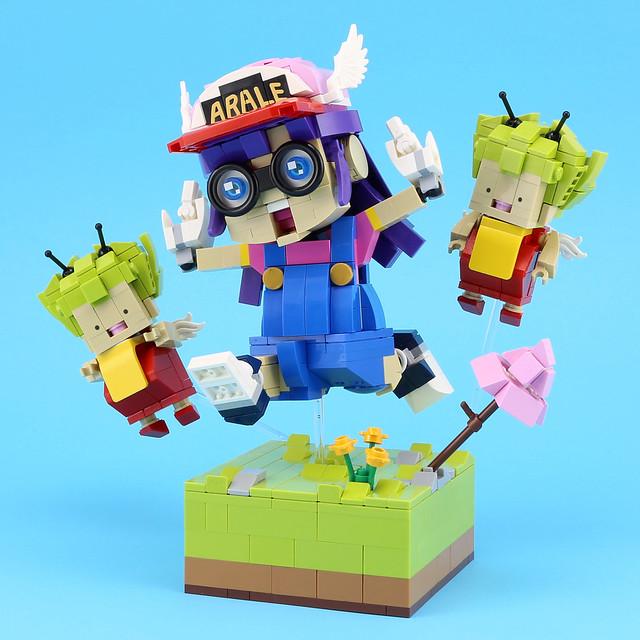 LEGO Dr Slump - Arale & Gatchan