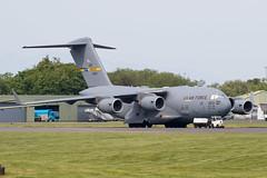 10-0213 C-17A USAF Prestwick 27.05.18