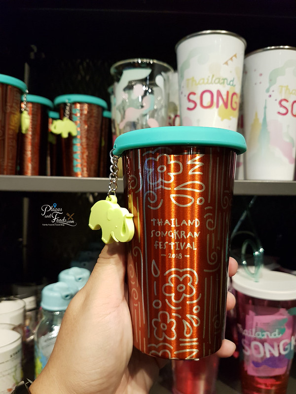 Starbucks Thailand Songkran Day 2018 Collections metal