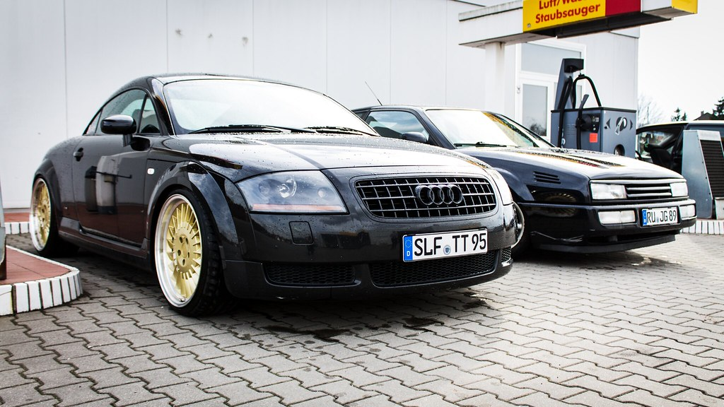 Audi TT 8N and VW Corrado VR6