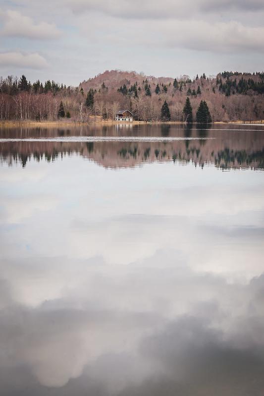 Lac du Grand Maclu - Jura - Avril 2018
