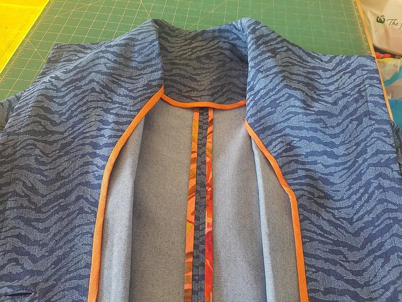 Simplicity 8058 jacket details