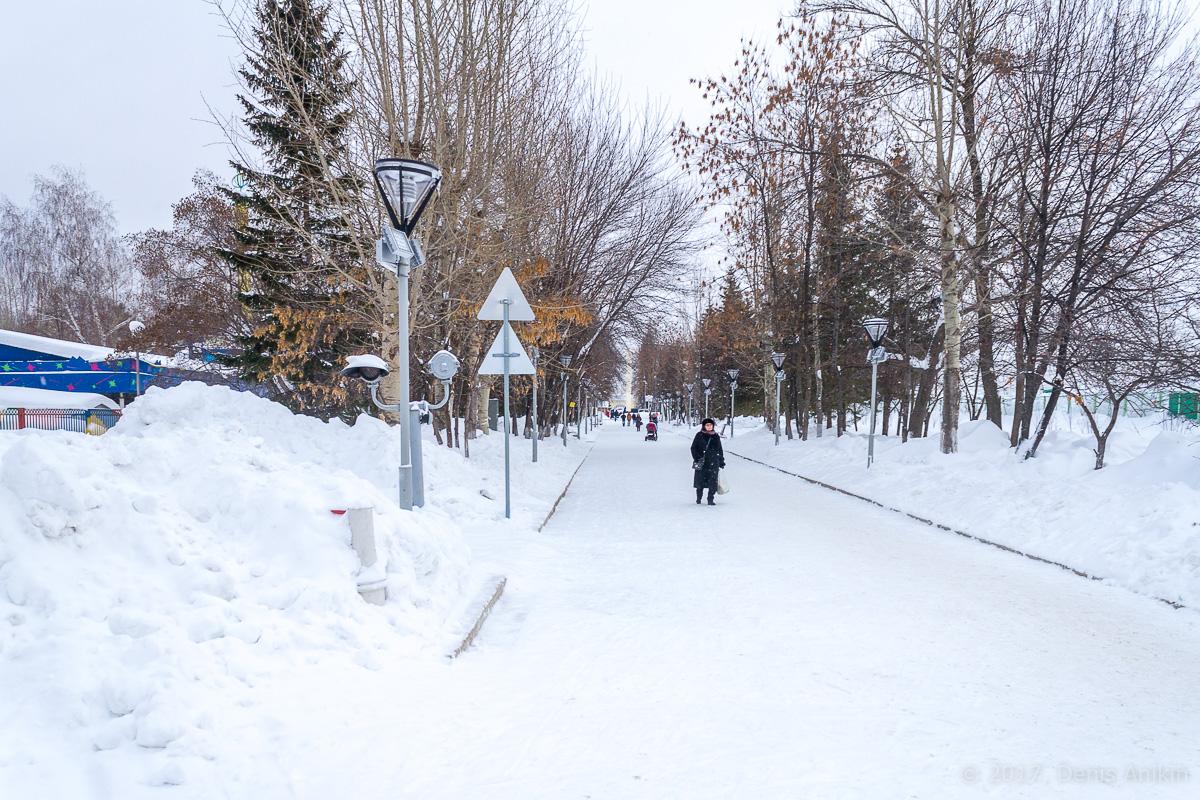 Центр Уфы зимой фото IMG_1128