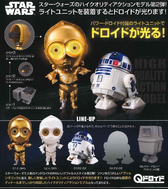 GASHAPON《星際大戰》嶄新Q-droid轉蛋系列 第二彈!Qドロイド スター・ウォーズ 02