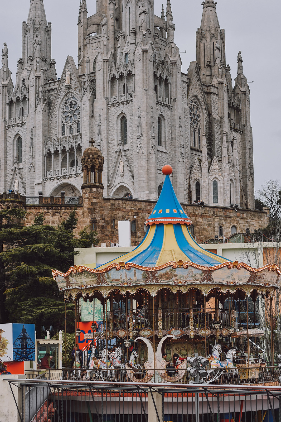 Tibidabo a must see place in Barcelona