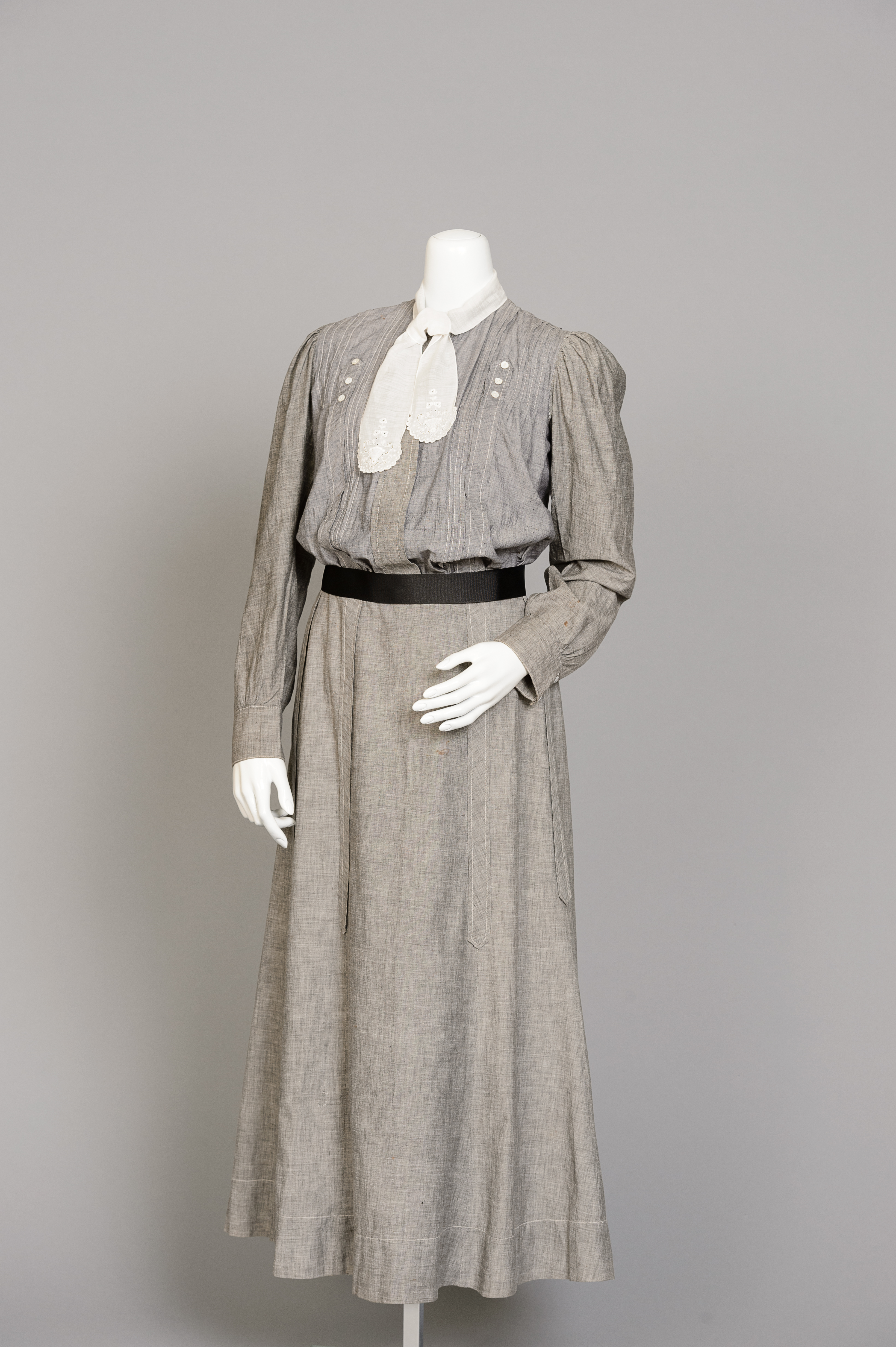 Fashion and Satire: Two-Piece Cotton Dress