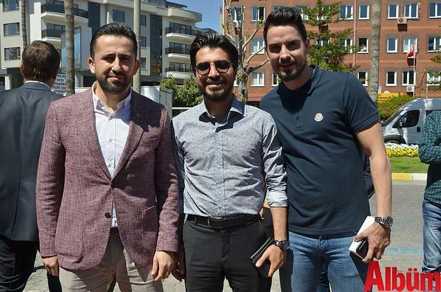 Ali Baki Boz, Emirhan Çavuşoğlu, Cenk Melih Yazıcı