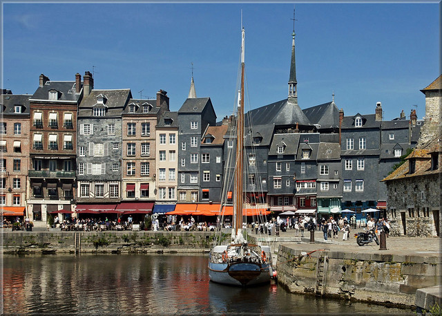 The old port of Honfleur