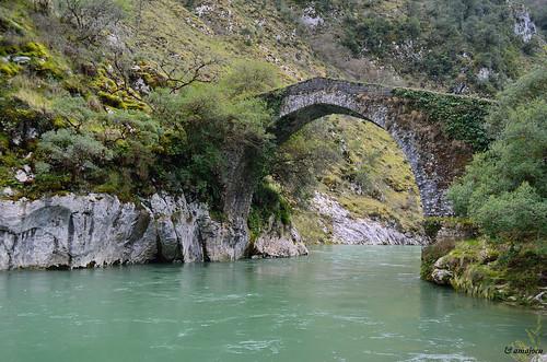 Puente La Vidre  (Asturias)  Spain