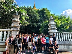 Another fantastic group of #urbanhikers today! #bangkok #urbanhiking