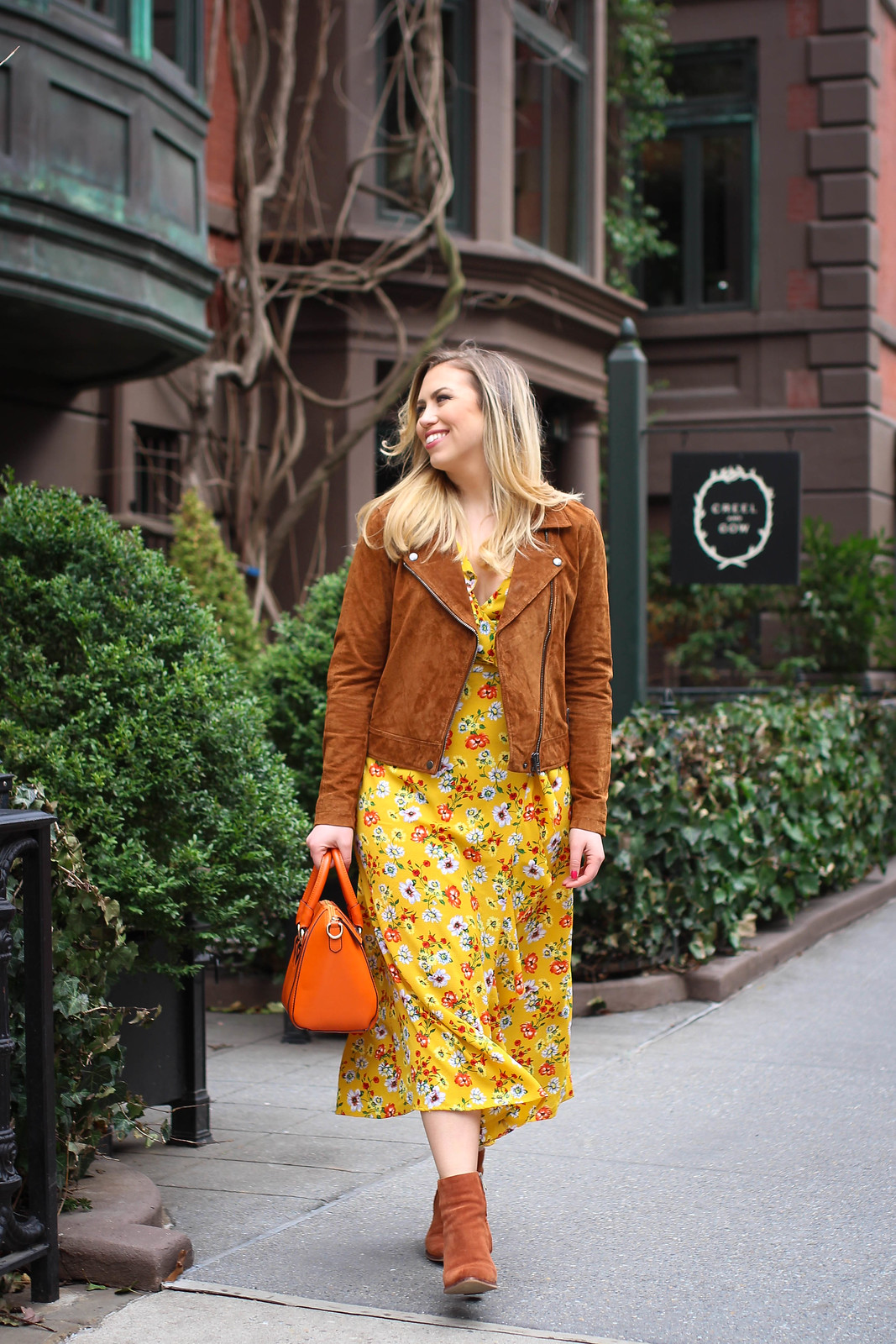 Yellow is the Color of Spring 2018 Spring Outfit Fashion Living After Midnite Jackie Giardina Style Blogger NYC Westchester NY