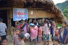 Medical Camps in Longding district by VKAJ