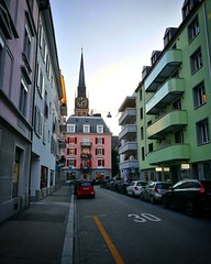 Zurich gets so colourful when sunny :heart_eyes: