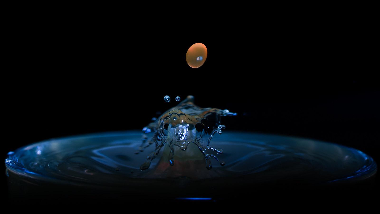 Pluto Trigger Goutte D Eau La Photo Objectif Diaporama