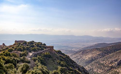 israel holyland nimrodfortress golanheights mountains
