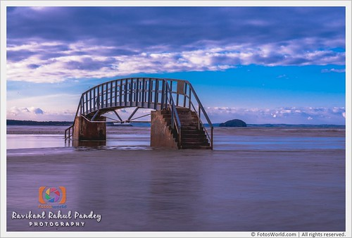 The-Bridge-to-Nowhere-at-Belhaven-Bay-and-Bass-Rock-in-Background-Firth-of-Forth-Dunbar-Scotland-180401-173642