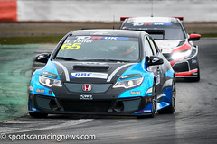 Howard Fuller Honda Civic Type-R TCR UK Championship Silverstone 2018 Sportscar Racing News