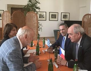 Επίσκεψη Υφυπουργού Εξωτερικών, Τ. Κουΐκ στην Πράγα