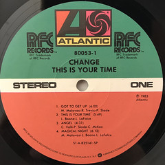CHANGE:THIS IS YOUR TIME(LABEL SIDE-A)