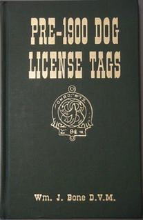 Pre-1900 Dog License Tags book cover