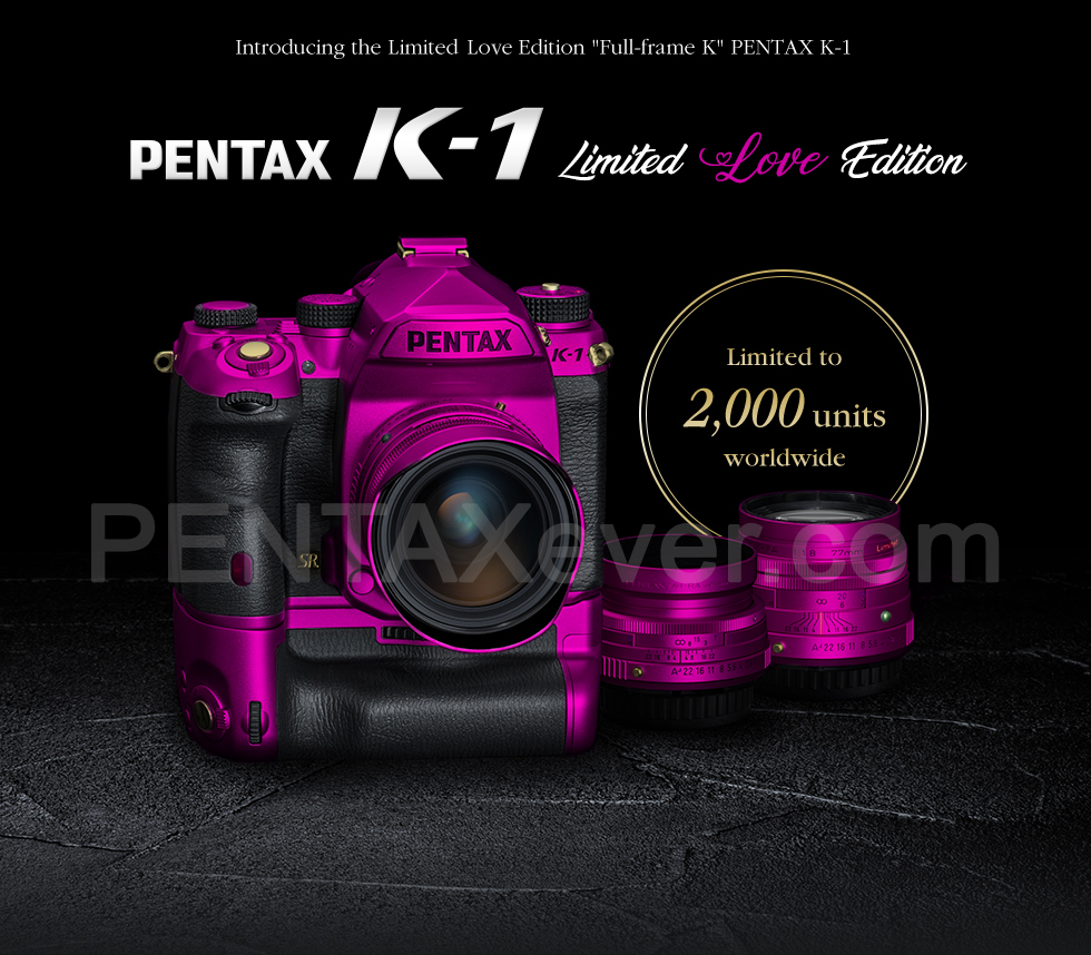 New PENTAX K-1 Limited Luxury series!!! | PENTAXever.com