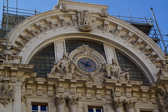 orologio stazione metro napoli mergellina