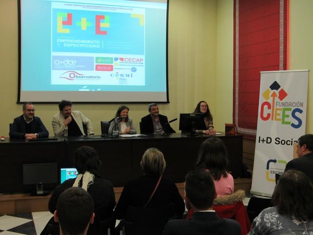 """Clausura II Curso """"Emprendimiento y Especificidad"""" (3 de abril de 2018)"""