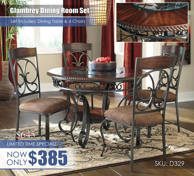Glambrey Dining Room Set D329_LimitedTimeSpecial