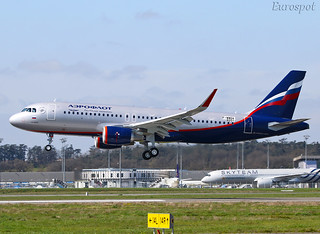 F-WWDA Airbus A320 Aeroflot