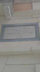 Photo of Johann Wolfgang von Goethe stone plaque