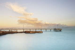 Nightcliff Jetty at sunrise