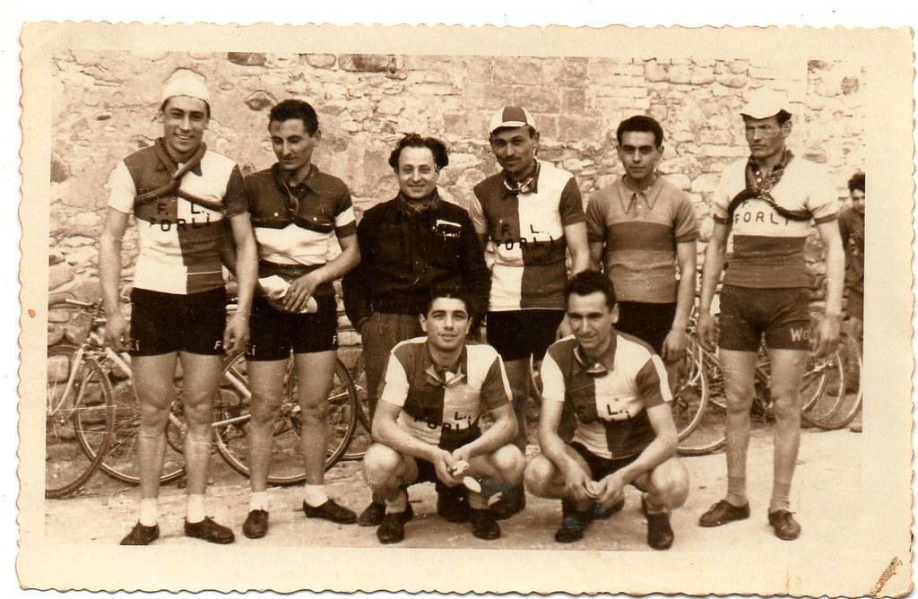 Squadra F.L. Forli (foto inviata dal figlio Marco)