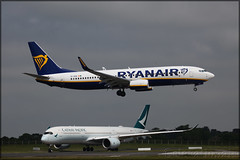 EI-GSA Boeing 737-8AS(W) Ryanair