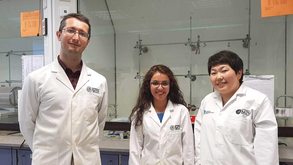 Dr Stephen A Wells, Dr Hamide Khanbareh, Dr Asel Sartbaeva