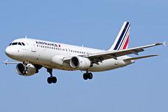 F-HEPC A320-214 Air France Barcelona-El Prat 21-02-16