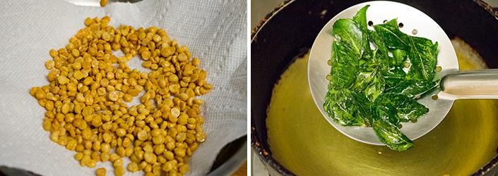 Nei Kadalai cooking steps by GoSpicy.net
