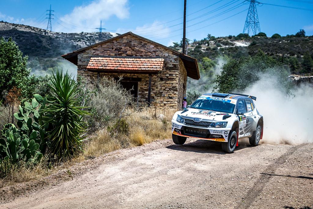 05 PTASZEK Hubert (POL), SZCZEPANIAK, Maciej (POL), TRT KREZUS RALLY TEAM, SKODA FABIA R5, action during the 2018 European Rally Championship ERC Cyprus Rally,  from june 15 to 17 at Larnaca, Cyprus - Photo Thomas Fenetre / DPPI