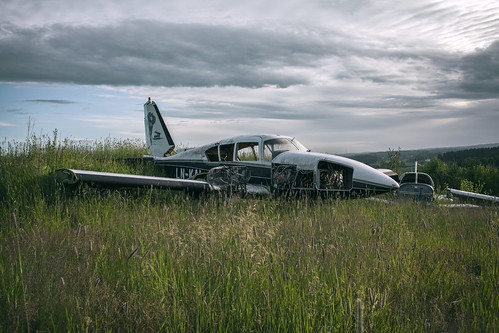 abandoned plane | by [AndreasS]