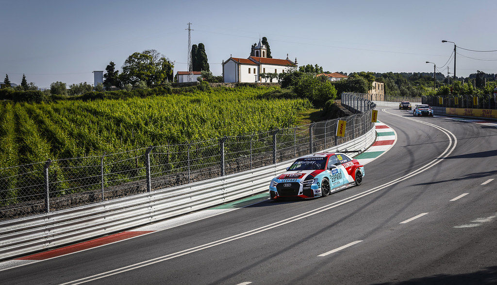 69 VERNAY Jean-Karl, (fra), Audi RS3 LMS TCR team Audi Sport Leopard Lukoil, action during the 2018 FIA WTCR World Touring Car cup of Portugal, Vila Real from june 22 to 24 - Photo Francois Flamand / DPPI