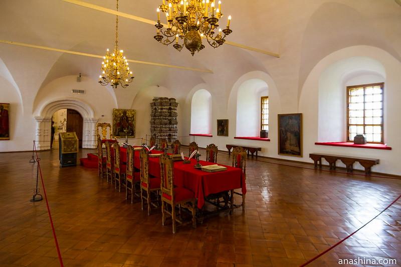 Стол, Крестовая палата, Суздаль