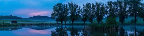 A Pond at Evening No. 2 - Saxonia, Germany