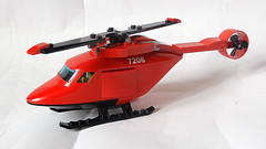 Lego Rescue Helicopter (Updated MOC - 4K)